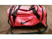 Nike Pink Holdall