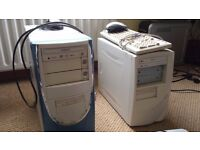 Samsung and LG Desk Top Computers - Both with DVD / R Drives