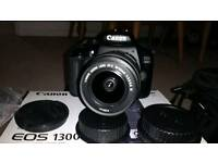 Canon 1300d digital slr camera. Like new