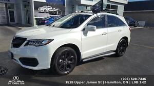 2017 Acura RDX Tech CARBON PACKAGE, LOW KM'S