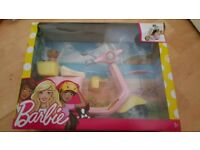 Barbie Scooter With Puppy
