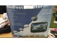 Dvd headrest x2