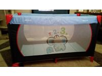 Travel cot and 1st ready bed