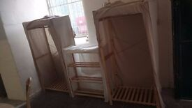 IKEA canvas wardrobe (one left) £25 + MORE optional items CHEAP local DELIVERY Stalybridge SK15 2PT