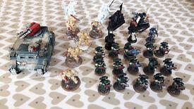 Price Drop - Warhammer 40,000 bundle - Dark Vengeance, Dark Angels, Chaos, Codex, Case and more