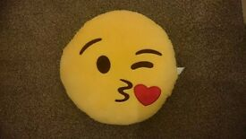 2 emoji cushions