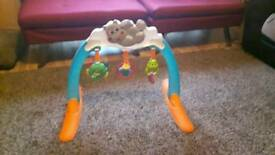 Chicco baby musical hippo