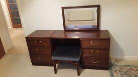 G PLAN Garrick mahogany bedroom furniture