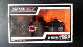 spynet gear video recon robot