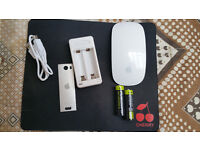 Apple Magic Mouse in Good Condition with Accessories