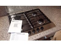 Samsung 4 ring Gas Hob, Stainless Steel - SOLD