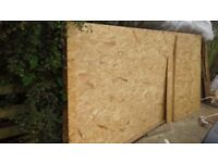 OSB Sheets ideal for shed roofing or lining out....