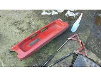 Genuine Toyota Celica 2.0Gt 1993-1996 cabriolet convertible rear number plate surround + boot struts