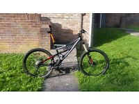 Specialized Status I FSR Downhill Jump Free Ride Enduro Mountain Bike £££s spent, can deliver local