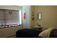 beauty room to let withing a busy hair-salon.£70 per week which includes all bills.as own accent.