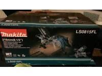 Makita LS0815FL Slide Compound Mitre Saw 216mm with Laser Guide