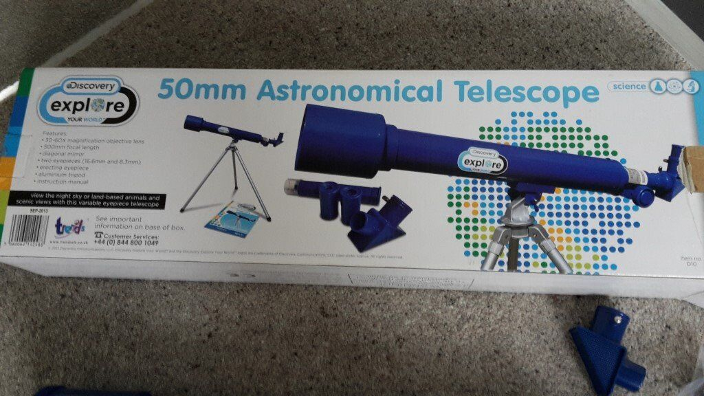 50mm Astronomical Telescope (Discovery,Explore your world)