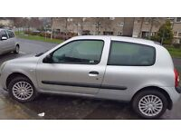 05 renault clio rush 1.2 8v for sale