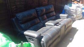Free 2 reclinder settee