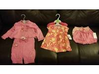 Bundle of girl's baby clothes aged 6-9 months - brand new