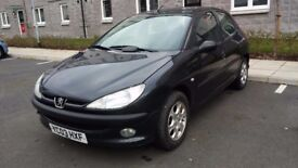 Peugeot 206. Good condition. MOT to Feb 2019. Alu wheels. Cheap TAX.
