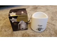 Tommee Tippee Closer to Nature Electric Baby Bottle white