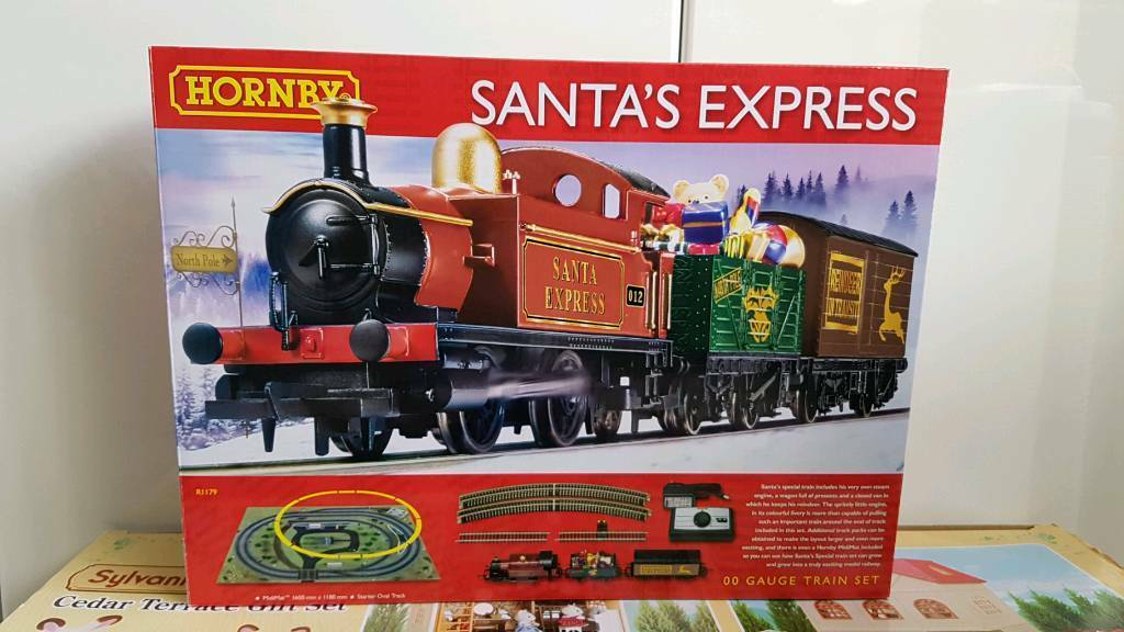 Hornby Santa express Christmas train set