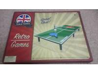 Table top tennis table brand new