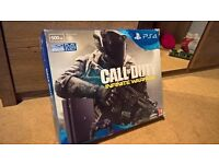 PS4 Slim 500gb Boxed with 2 games, As new condition