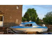 Microplus 16ft Boat with Trailer and 20HP outboard engine