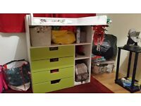 Ikea baby chaning table / desk