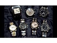Rolex, Omega, Cash Waiting