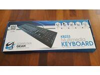 KB233 Multimedia Keyboard