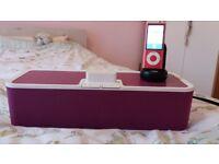 Ipod nano and speaker