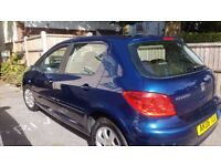Peugeot 307 Automatic 1.6 for sale - Bournemouth Area