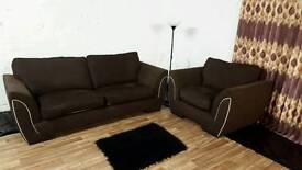 Dfs 3 seater with matching chair**Free delivery**