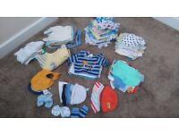 Baby boys clothes bundle for 0-3 & newborn