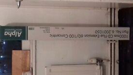 Alpha 1000mm CD Flue Extension..in Box £10!