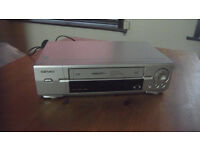 Hitachi VHS Player Recorder - 6 heads - Gorleston