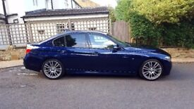 '2013 BMW 3 Series 3.0 330d BluePerformance M Sport Saloon Tanzanite Blue