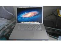 "Apple MacBook Pro 15.4"" - Core 2 Duo 2.16 GHz - 2GB RAM - 120GB HDD - OS X Lion 10.7.5 - MagSafe"