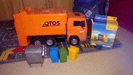 Bruder bin lorries x2