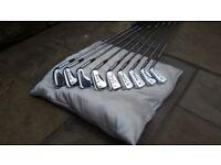 Full set of irons