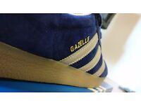 Adidas Originals Gazelle - Blue/ Unity Ink Mens 11 UK RRP £75