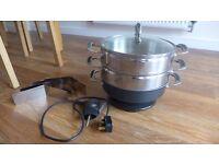 Prestige Electric Cook N Steam multi-steamer