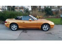 OLD IS GOLD 1998 MAZDA MX5 - 1.6 AUTO GOLD