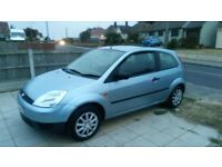 FIESTA 54 PLATE, 10 MONTHS MOT SERVICE HISTORY 63K PERFECT WORKING ORDER, GENUINE REASON FOR SALE