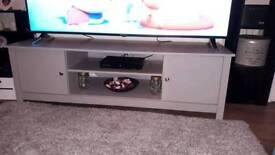 Beautiful grey tv stand