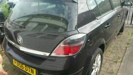 LOW MILEAGE 2007 Vauxhall Astra Design 1.8 Auto Black
