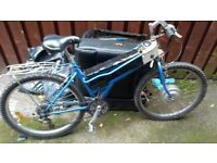 POWABYKE. Electric cycle. 36v 21 gears. comes with a charger.